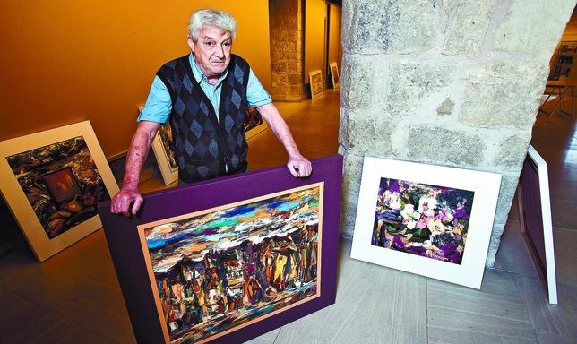 Ignacio del Río reúne cerca de cincuenta cuadros en los que plasma las inquietudes humanas con trazos de color, expresión y simbolismo. Luis López Araico