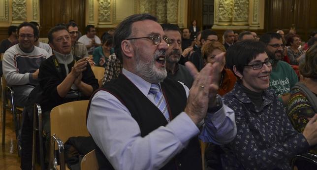Asistentes a la Audiencia Pública sobre el San Juan de la Cruz. Borja Sánchez