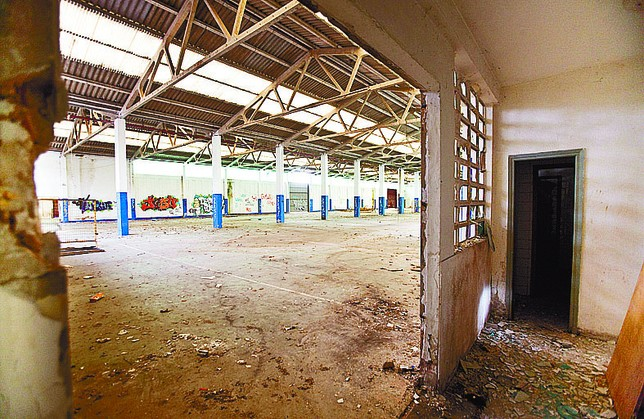 Situación interior del que fuera recinto ferial. Jesús J. Matías