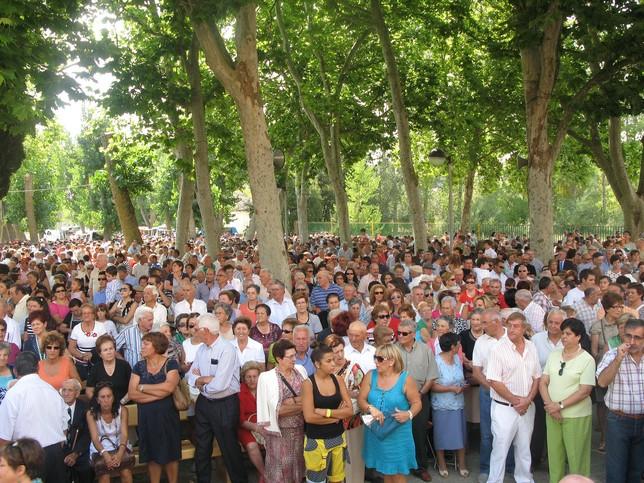 La Romería de la Virgen del Valle, entre los actos que más público congregó. Rubén Abad