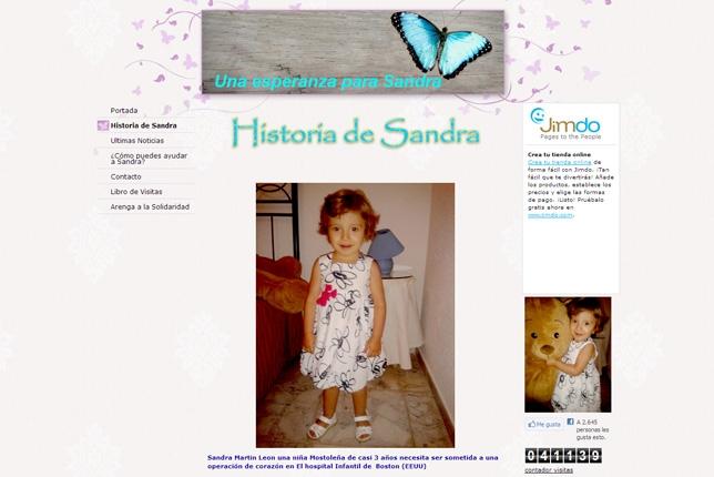 La familia de Sandra logra los 50.000 euros para la operación de corazón