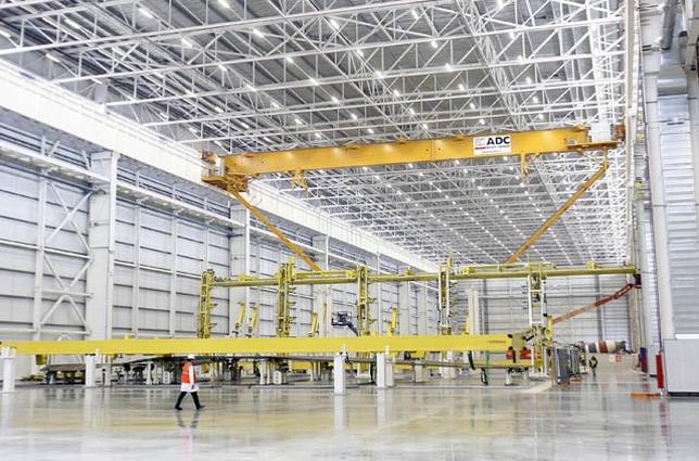 Actividades como la aeronáutica, importante en Illescas por el peso de industrias como Airbus, tendrá su sitio en los talleres de empleo. Víctor Ballesteros