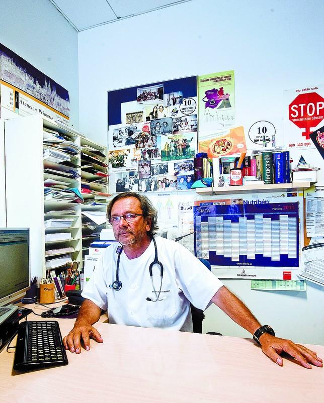 Pablo Pérez Luengo es el coordinador del Centro de Salud de San Agustín. DB/Alberto Rodrigo
