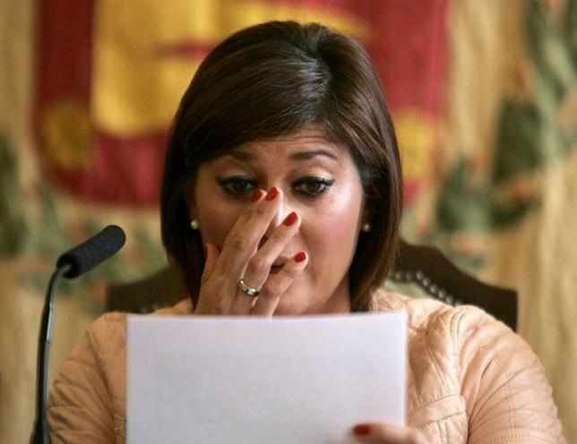 La atleta Mayte Martínez comparece ante los medios de comunicación para anunciar los detalles de su retirada de la competición. Ical