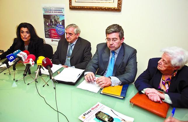 Aicabur concurre a las elecciones como el alma de caja for Muebles evelio burgos
