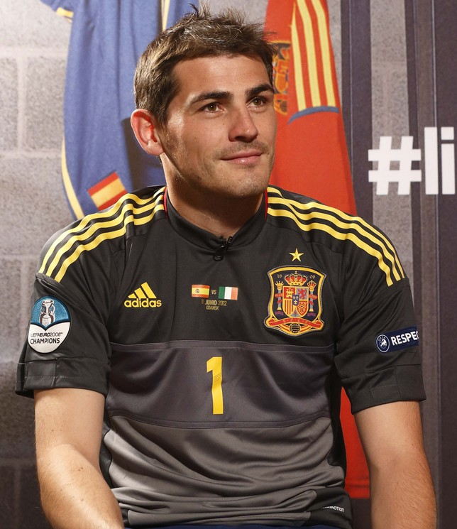 Iker Casillas Selección Europa Press