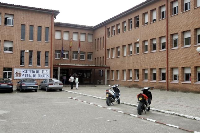 El ies puerta de cuartos recibe a alumnos alemanes de for Instituto puerta de cuartos