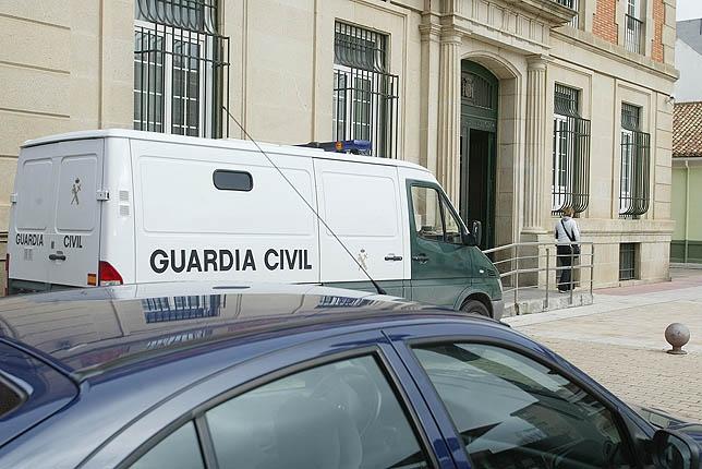 Imagen de archivo del Palacio de Justicia de Palencia donde será juzgado el caso.   C.M.
