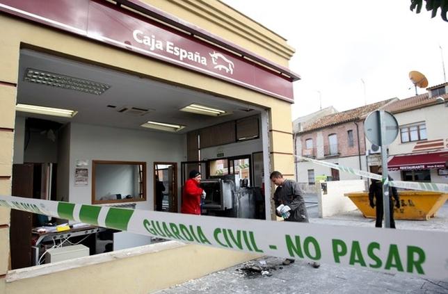 Asaltos a la italiana el d a de valladolid for Cajamar oficinas valencia