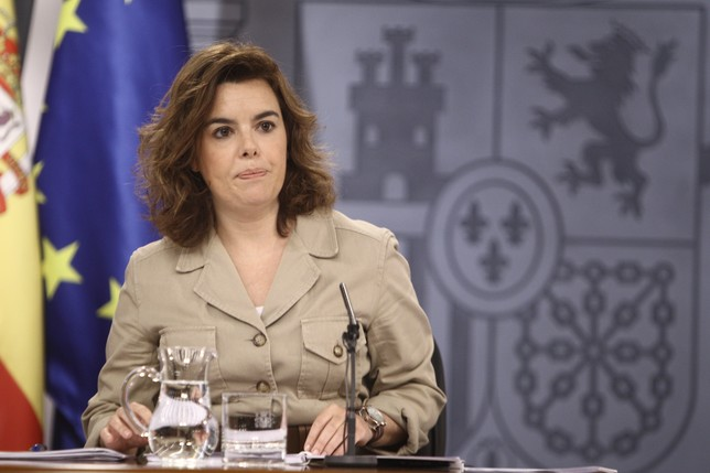 Soraya Sáenz de Santamaría Europa Press