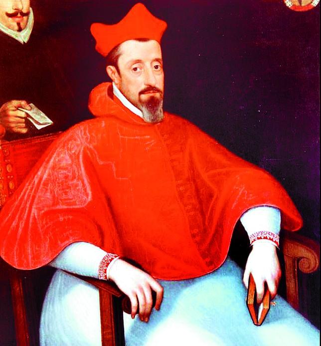 Retrato del obispo Sandoval y Rojas, artífice del cambio de la fecha de San Fermín al 7 de julio, que se conserva en la catedral de Toledo. A.M.L.