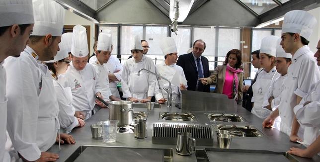 Escuela Internacional De Cocina | La Escuela De Cocina Tendra Un Curso De Alimentos De Calidad El