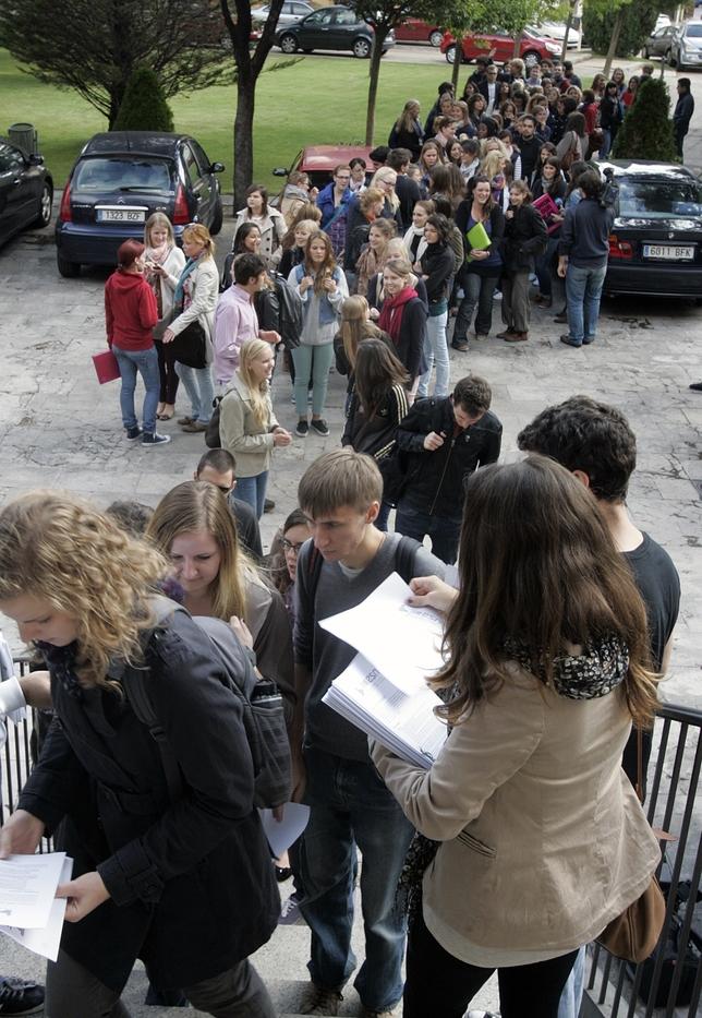 900 alumnos extranjeros pasar n este curso por la uva el - Universidad arquitectura valladolid ...