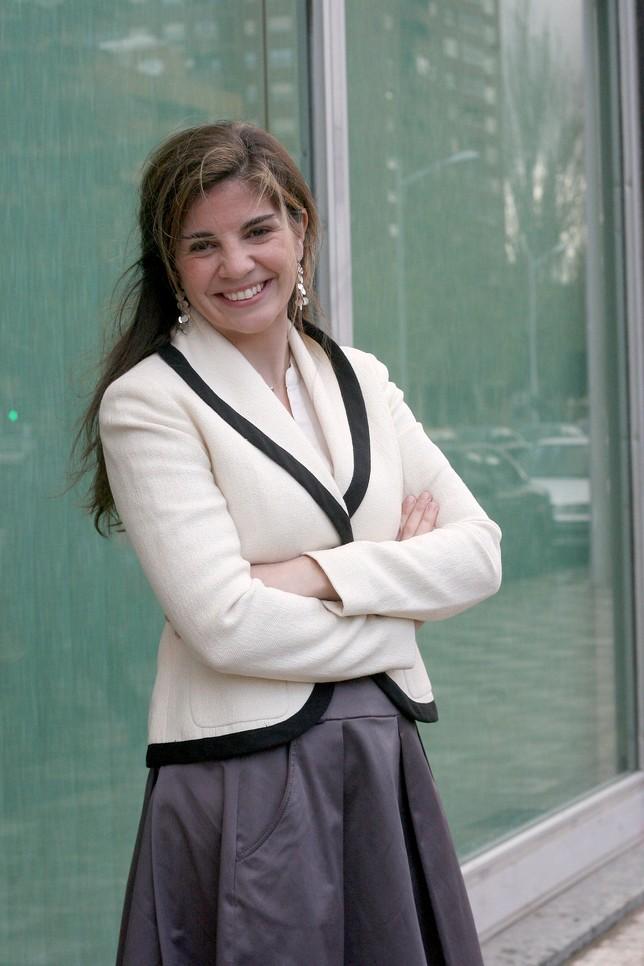 Marian Rojas estapé, antes de la conferencia RUBÉN SERRALLÉ