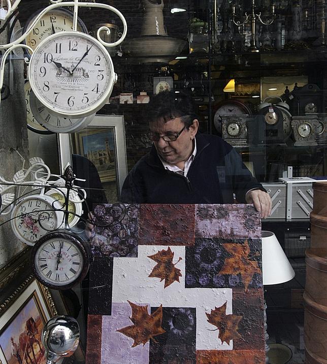 Ronte, en Platerías, tiene obras de González, González y Ogea. J. Tajes