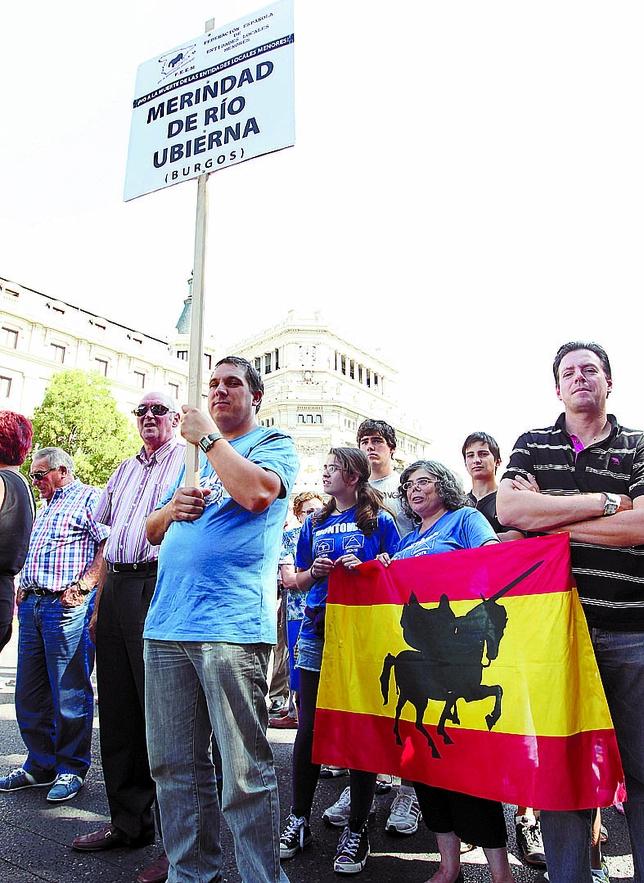 La presencia burgalesa se hizo notar en Madrid. Juan Lázaro (Ical)