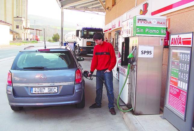 Gasolineras que lindan con euskadi restan de sus for Sanitarios fv precios