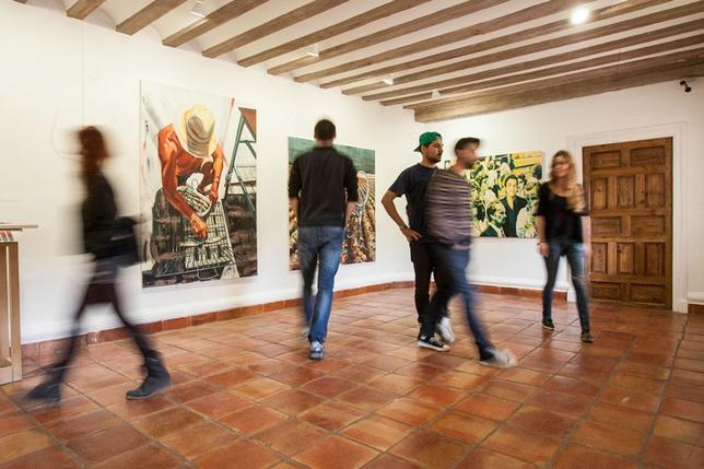 Sala de la exposición Reyes Martínez