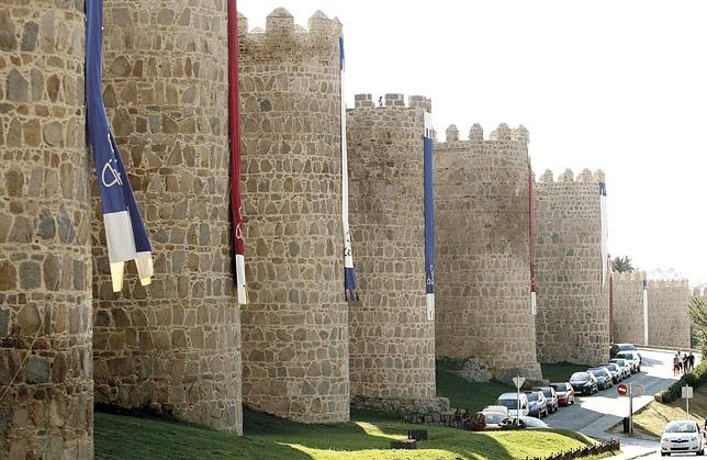 La Muralla Medieval Se Engalana Diario De Vila