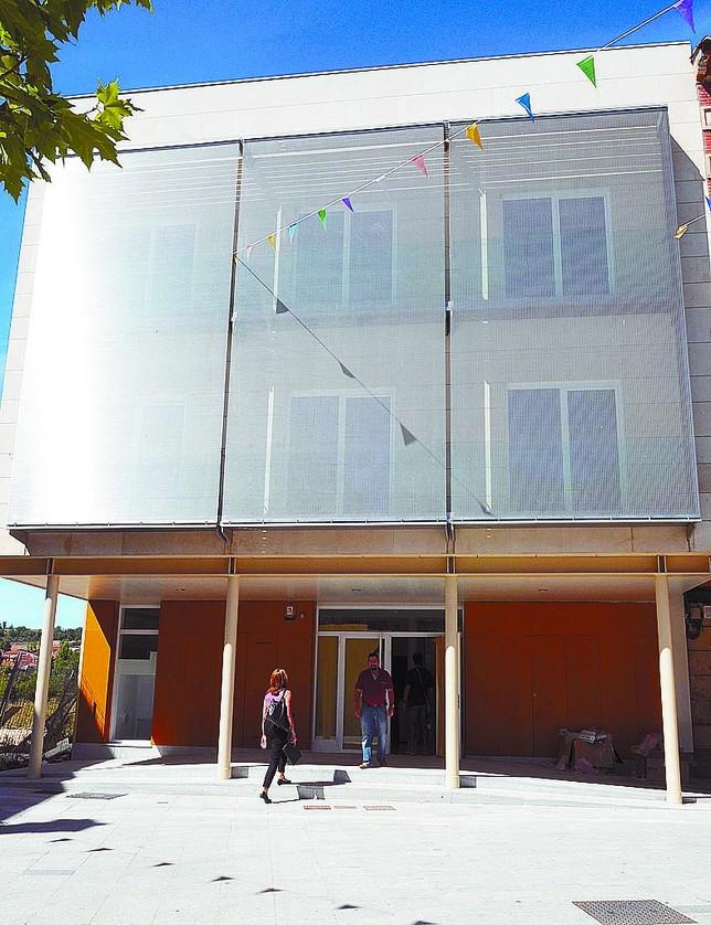 El Juzgado de Salas es el último que se ha inaugurado en la provincia. Azúa