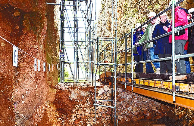 Imagen de los yacimientos de Atapuerca. Luis López Araico