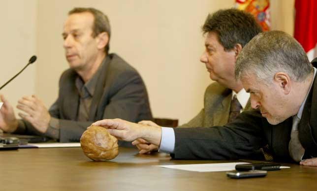 El hallazgo de Bercial se presentó este miércoles. Antonio Bartolomé