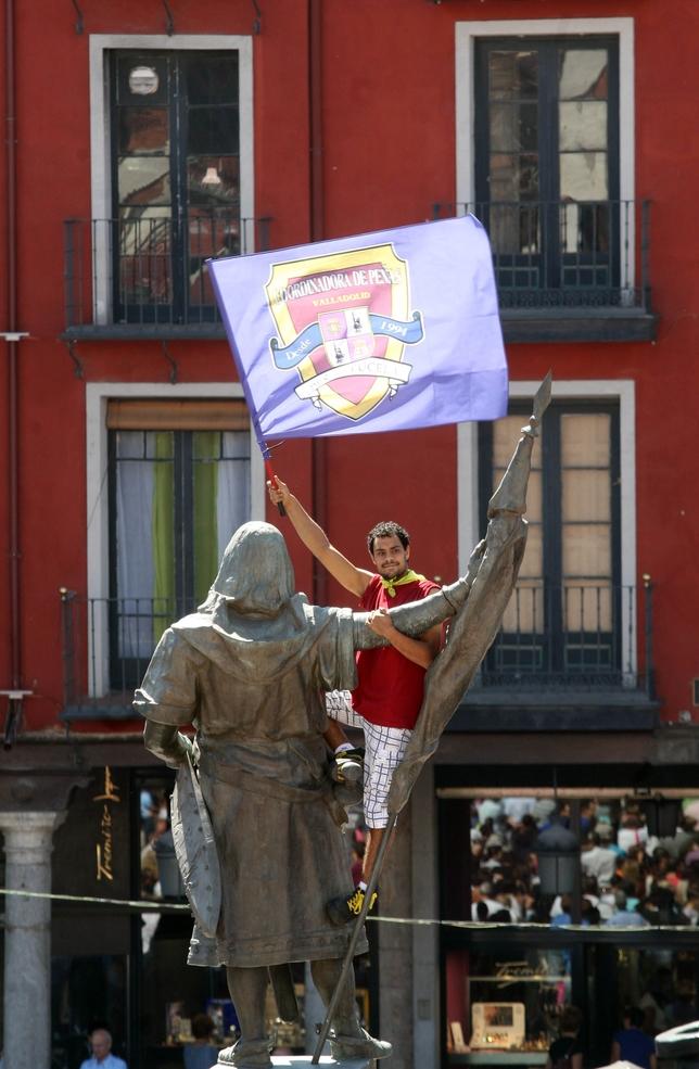 Pregón inaugural de las fiestas de 2013.