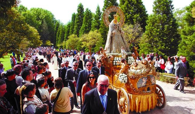 Procesión de la Virgen de las Viñas