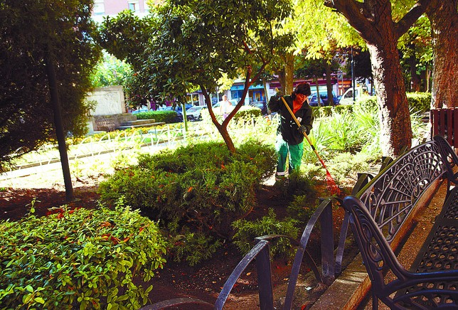 El contrato de parques y jardines mantiene su coste pero - Mantenimiento parques y jardines ...