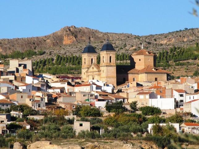 Vista de Elche de la Sierra. J. García