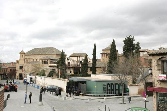 El contrato contempla la instalación de señalización de diverso tipo, como monumental, hostelera y relativa al Greco 2014. victor ballesteros