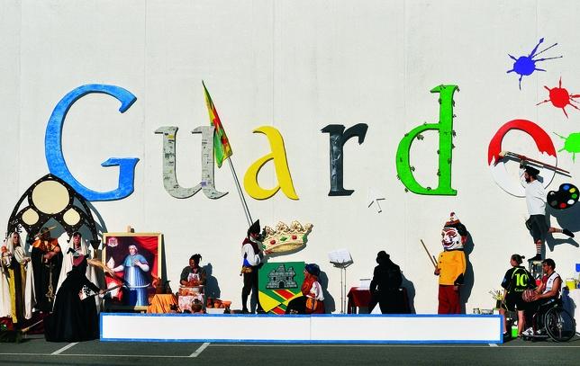 GUARDO: Con un 'doodle', simulando la página de inicio del buscador de Internet, Guardo muestra su Cultura y Deporte mediante patrones, leyendas, tradiciones, símbolos, folklore y personajes. ¡Con solo un clic! Foto:Diego Gutiérrez