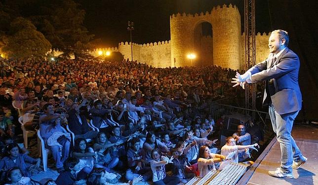 Miles de personas disfrutaron de Ávila Mágica. David Castro