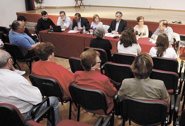 El pleno de la Junta de Distrito de Santa Bárbara se celebra hoy a las 18.00 horas en el Centro Cívico. Yolanda Lancha