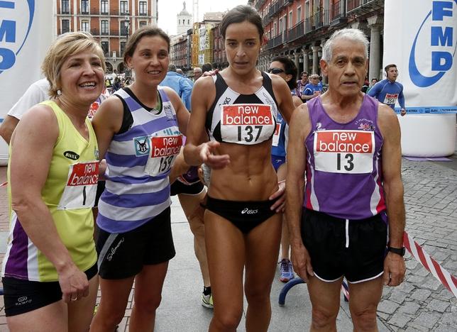 Alma de las Heras (2i) fue la más rápida entre las mujeres. César Minguela