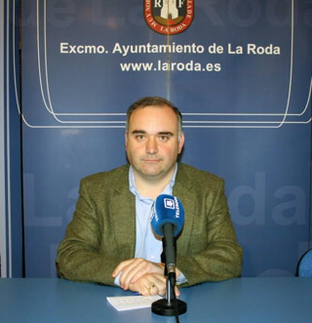 Constantino Berruga, portavoz del PP en el Ayuntamiento rodense. Ayto. La Roda