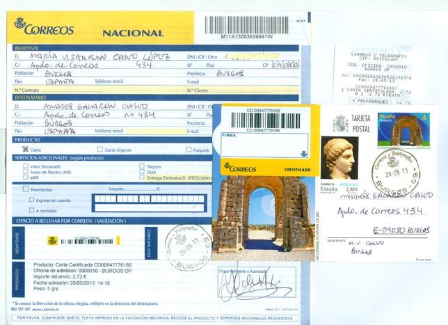 Correos implanta en plan piloto el nuevo formulariom11 for Oficina de empleo por codigo postal