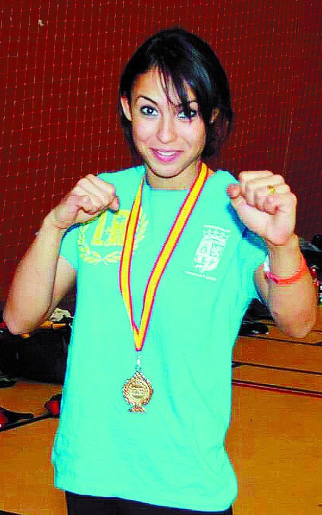 Sonia Presencio acude con la ilusión de lograr una medalla en el Mundial. DB