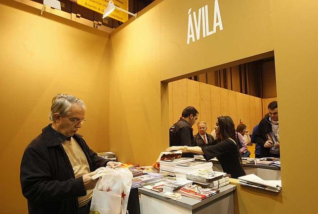 Expositor de Ávila en Fitur en la edición de 2013. David Castro