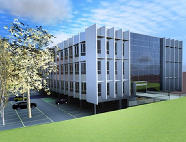 Edificio Lanzadera Universitaria de Centros de Investigación Aplicada (Lucía). Ical