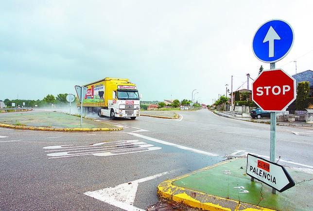Una de las carreteras en las que se realizarán obras de conservación es en la CL-619, de Aranda a Palencia. DB
