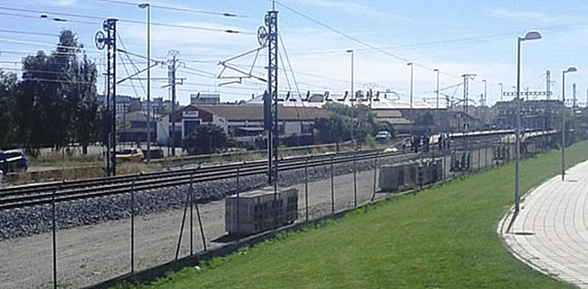 Un octogenario falleció ayer arrollado por un tren cerca del apeadero de la UVa Teodoro Lozano