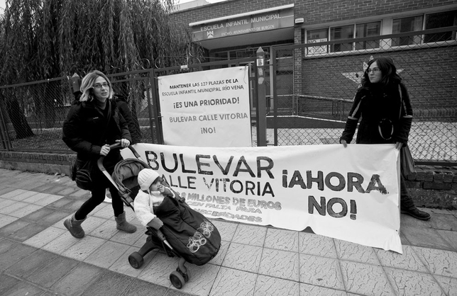Plataforma contra el cierre de la Guardería Río Vena y Bulevar Ahora No