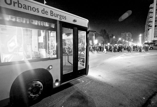 Protesta vecinal contra el bulevar de la calle Vitoria de Gamonal