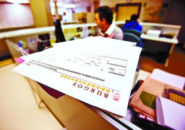 La oficina del contribuyente se reforzar con 7 for Oficina del contribuyente