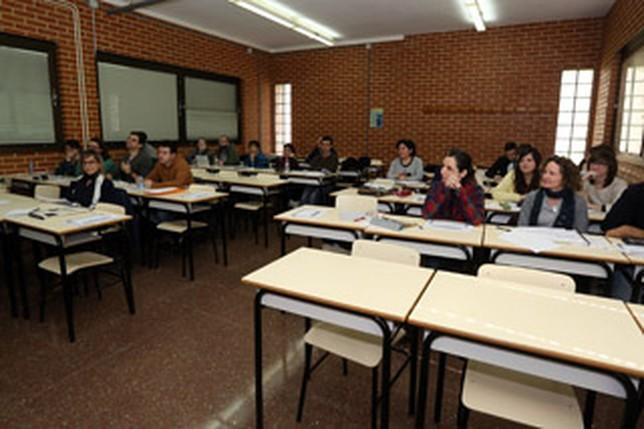 Los alumnos del máster sobre Altas Capacidades del Campus de Albacete, durante una de las conferencias J.M.ESPARCIA