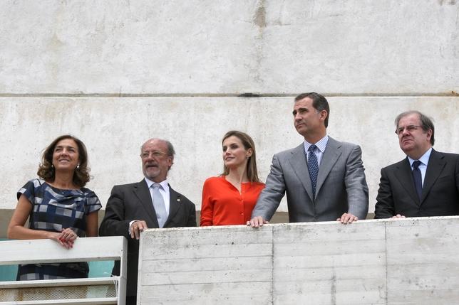 Visita de Felipe VI y Letizia a Valladolid