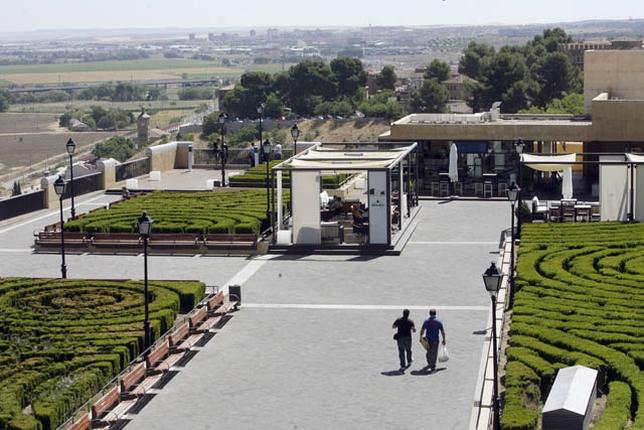 La terraza del miradero pide licencia 3 a os despu s de abrir la tribuna de toledo - Cerramiento terraza sin licencia ...