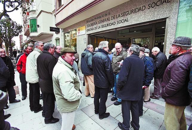 El gasto en pensiones en burgos alcanz los millones for Tesoreria seguridad social vitoria