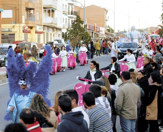Desfile del Carnaval interprovincial de El Tiemblo. Antonio Bartolomé